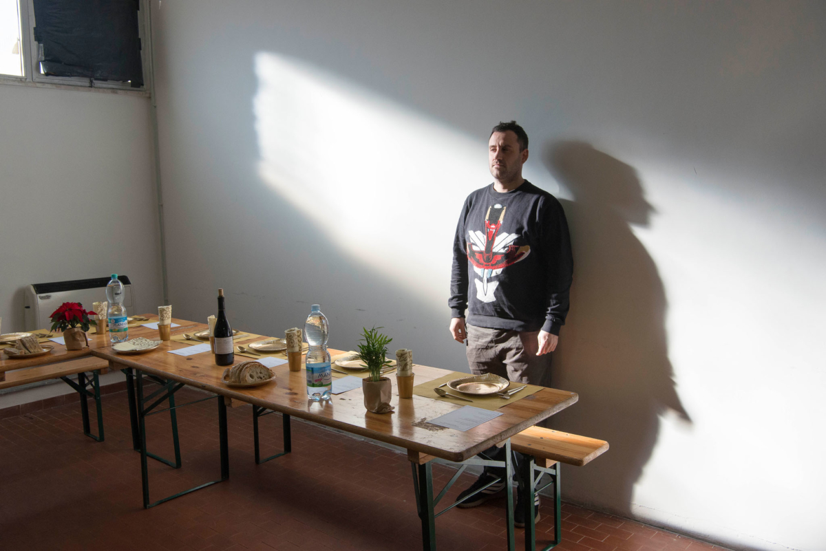 gabriele de santis standing alone