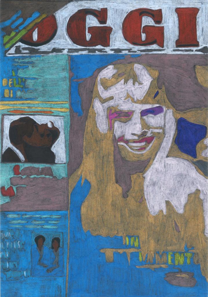 Flavio Favelli | Ilona 1988 (2020)